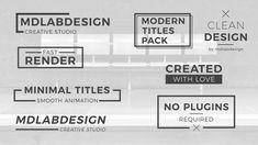8b5748c050fa Clean Minimal Titles - Storyblocks Video Business Card Logo