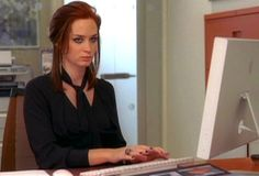 """The Devil Wears Prada. """"I'm one stomach flu away from reaching my goal weight."""" by Emily Blunt as Emily"""
