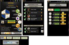 First mobile mockup proposal - BHB Communication Did I mention we like black background ? ;)