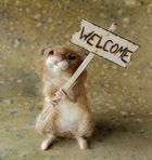 Felting website, she has lots of youtube how to videos on felted animals and sells felting kits via etsy. #needleart