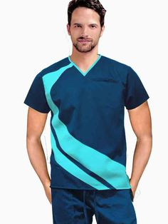 IMG-PRODUCT Cute Scrubs Uniform, Scrubs Outfit, Men In Uniform, Scrub Suit Design, Stylish Scrubs, Dental Shirts, Medical Uniforms, Uniform Design, Medical Scrubs