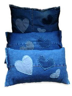 almofadas jeans - Pesquisa Google