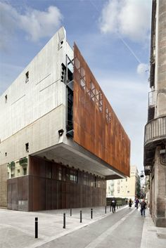 Filmoteca de Catalunya - Film Theatre of Catalonia 2011 / First prize. Public competition, 2004 - Barcellona, Spain - 2009 - Mateo Arquitectura