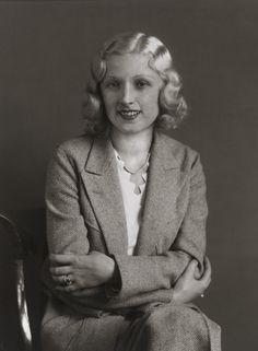 August Sander. Film Star [Rosy Bársony]. c. 1932.