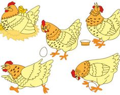 Check out BUY 1 GET 1 FREE  Chicken Clipart - Digital Vector Farm, Bird, Hen, Egg, Rooster, Easter, Chicken Clip Art for Personal and Commercial Use on thecreativemill