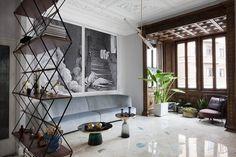 아르누보 스타일로 완성한 밀라노의 30평대 아파트 인테리어 : 네이버 포스트