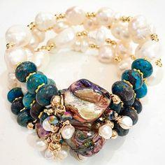 Bracelets By Vila Veloni Special Stone Multicolor