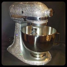 Swarovski Crystal mixer  Made by Ice Diva Design