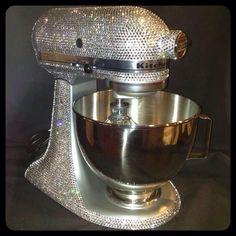 Swarovski Crystal mixer  Made by Ice Diva Design