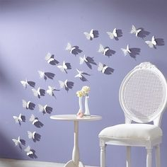 3D Wall Sticker Butterflies Home Decor Room Decorations Stickers 12 / 24/ 36 pcs