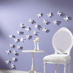 3D Wall Sticker Butterflies Home Decor Room Decorations Stickers 12 / 24/ 36 pcs