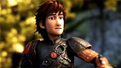 Hiccup from the How to Train Your Dragon 2 trailer jeSUS TAKE THE WHEEL