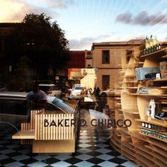 Baker D. Chirico bakery, in Carlton, Melbourne