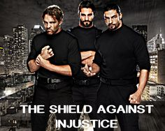 "the shield wwe photos | The SHIELD Against Injustice"" WWE Wallpaper ft. Dean Ambrose ..."
