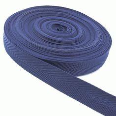 25m Polypropylen-Einfassband dunkelblau 25mm