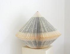 Book Art Eva Luna  Big Book Sculpture par PaperStatement sur Etsy