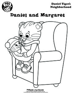 Daniel tiger s neighborhood coloring pages coloring pages for Daniel tiger coloring pages