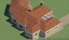 5 Bedroom Single Storey House Plan For Sale NethouseplansNethouseplans Round House Plans, Tuscan House Plans, House Plans For Sale, House Plan With Loft, House Plans With Photos, 6 Bedroom House Plans, 4 Bedroom House Designs, Garage House Plans, Design Bedroom