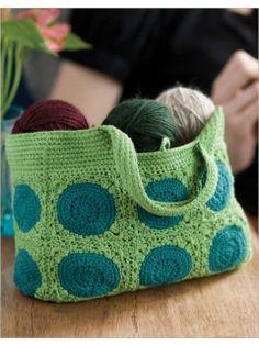 Banjo Bag By Sharon Ballsmith - Purchased Crochet Pattern - (interweavestore)