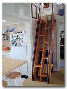 Split stairs: simple