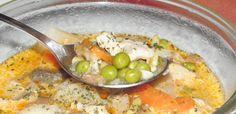 lestyános csirke leves