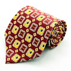 New Washington Redskins Mens Necktie NFL Football Team Logo 100% Silk Neck Tie #EaglesWingsNFL #NeckTie
