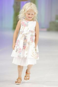 CIFF Kids Collection at Copenhagen Fashion Week Spring/Summer 2013  -Classic flower dress for Spring!