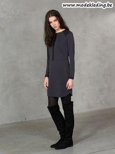 http://www.modekleding.be/Dept-jur-W26-33001049-Dress-Jersey-Medium-black
