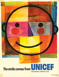 """#ThrowbackThursday #TBT """"The smile comes from UNICEF"""""""