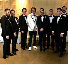 "Duran Duran (@duranduran) su Instagram: """"Congratulations to my man Travis and his beautiful bride Veronica .. long may you reign! Love John"""""