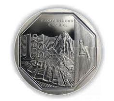 Nuevo Sol- el dinero para Perú. Sus dinero es mas bonita que nuestro dinero. ¡Este nuevo sol tiene Machu Picchu!
