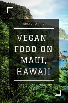 All the places you can find vegan food in Maui Hawaii! From acai bowls to salads wraps and Thai food there is something for everyone. Covers Kihei Lahaina the Road to Hana Paia and more. Hawaii Travel Guide, Maui Travel, Hawaii Vacation, Maui Hawaii, Dream Vacations, Maui Honeymoon, Family Vacations, Maui Food, Best Food In Maui