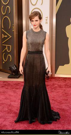 Emma Watson - Vera Wang - El Palacio de Hierro #Oscars 2014 #AlfombraRojaPH
