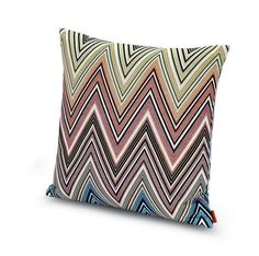 This zigzag pillow from the MissoniHome Stardust collection combines luxury with fun.