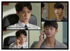 1x9  Min calls to take Hyun up on his dinner invitation and suggests Hyun's house.