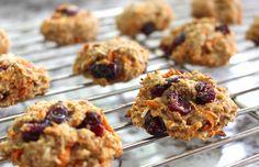 low fodmap healthy carrot cookies