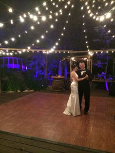 Pine Rose Weddings | Arrowhead DJ and Events Blue uplighting background for a Pine Rose wedding in Lake Arrowhead