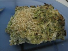 Recipe Tips and Hints: Broccoli and Cauliflower Casserole (dairy free)