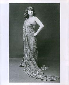Mary Garden | 1940s Reprint 1917 Opera Soprano Mary Garden Performs In Salome Portrait Photo
