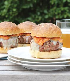 sliders with aged cheddar + homemade tomato jam. recipe from The Coastal Table: Recipes Inspired by the Farmlands and Seaside of Southern New England, published by Union Park Press (2013).