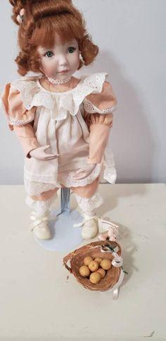 Ballerina Doll, Little Ballerina, Porcelain Dolls For Sale, Ashton Drake, Danbury Mint, Kids On The Block, New Kids, Peaches, Beautiful Dolls
