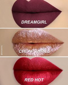 The DREAMGIRL Lip Trio is here! Shop the Limited Edition set now on limecrime.com/vdayshop Swatches: @itsmuaashley @mua_ashley_