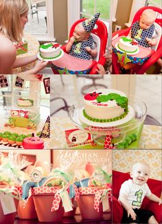 Love this cake! First Birthday Themes, Birthday Fun, First Birthdays, Birthday Ideas, Hungry Caterpillar Party, Holiday Crafts For Kids, Holidays With Kids, 1 Year, Party Time