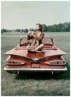 honey-rider:  1959 Chevrolet Impala Convertible John Rawlings, 1959