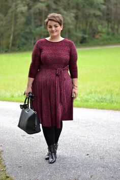 Plus Size Fashion for Women - Curvy Claudia: The Katharine Dress
