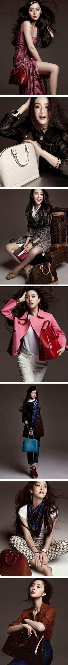The Alma is my favorite Louis Vuitton handbags - LV Alma. Fan Bingbing, a famous star from China.