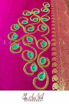 Cutwork Blouse Designs, Best Blouse Designs, Simple Blouse Designs, Embroidery Neck Designs, Best Embroidery Machine, Hand Work Embroidery, Hand Work Blouse Design, Maggam Work Designs, Neckline Designs