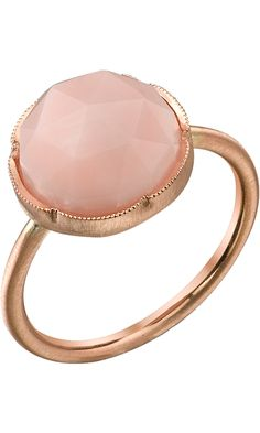 Irene Neuwirth Rose Cut Pink Opal Ring Barneys NY #divorcering: #trashthedress #divorce