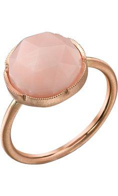 Irene Neuwirth Rose Cut Pink Opal Ring Barneys NY #divorcering: #trashthedress #divorce
