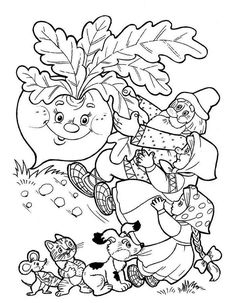 Színezés Repka - For Óvoda Coloring For Kids, Coloring Pages For Kids, Coloring Sheets, Adult Coloring, Coloring Books, Art Drawings For Kids, Window Art, Conte, Colorful Pictures
